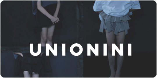 UNIONINI ユニオニーニ 2018 Spring Summer