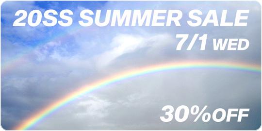 Summer Sale 2020 サマーセール