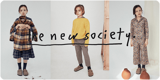the new society ザ・ニューソサイエティ— 2020 Autumn Winter